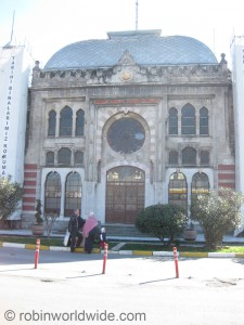 Entrance to old Istanbul Sirkeci terminus.