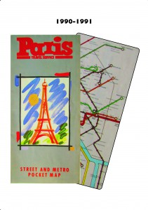This had been the previous design of cover and metro map in the years before I came on the scene