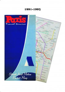 PTS cover & map 1991-1992