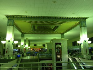 Tunis-airport-departure-area-ceiling-front-view