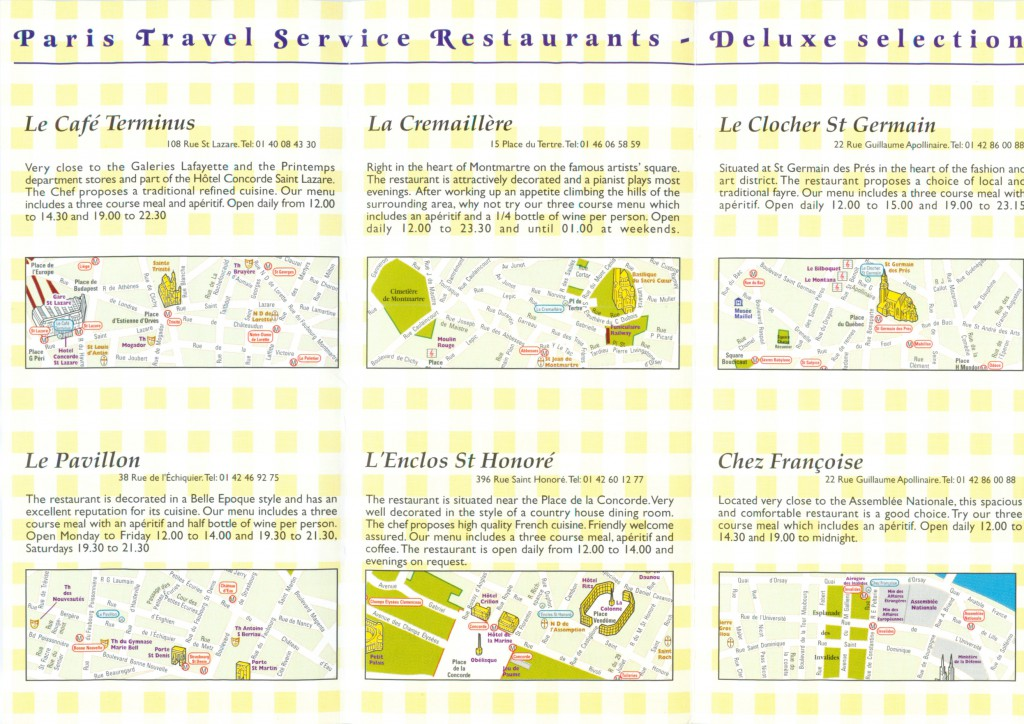 Deluxe Restaurant category inside