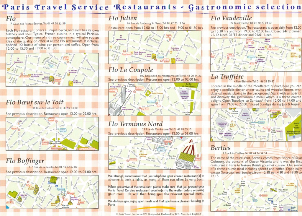 Gastronomic Restaurant category inside