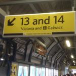 How about these two platforms? Which would you choose if you wanted Gatwick Airport?